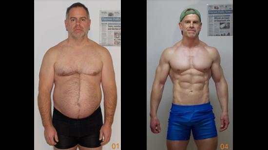Man Loses 40 Pounds Gains A Six Pack And 50 000 Odd
