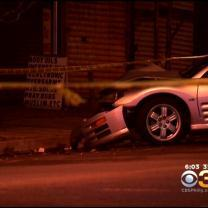 Police Officer Injured In Crash In West Philadelphia