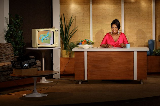 "Oprah takes a trip back in time to the 1960s on a special episode of ""The Oprah Winfrey Show"" on September 21, 2009."