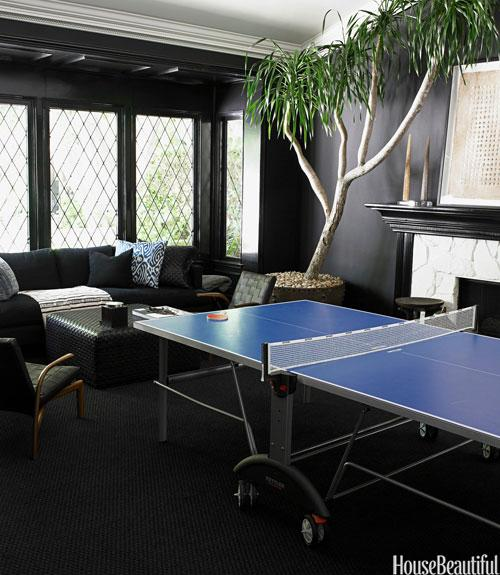 Black Game Room