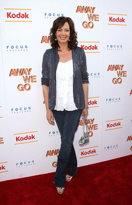 Away We Go NY Screening 2009 Allison Janney