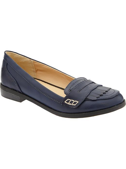 Old Navy Fringed Penny Loafers