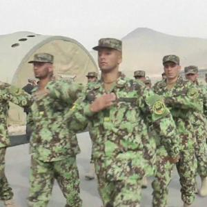 U.S. AND U.K. HAND OVER CONTROL OF MILITARY BASES TO AFGHAN ARMY