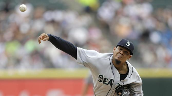 Mariners RHP Hernandez to face Oakland on Friday