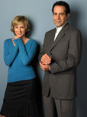 Traylor Howard and Tony Shalhoub