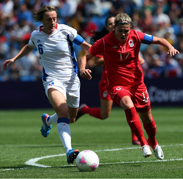 Olympics Day 13 - Women's Football 3/4 Play Off - Match 25 - Canada v France
