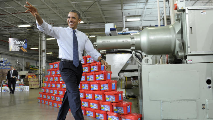 US is halfway to Obama 5-year export-doubling goal