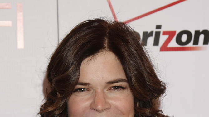 Betsy Brandt attends the 13th Annual AFI Awards Luncheon at the Four Seasons Hotel Los Angeles at Beverly Hills on Friday, January 11, 2013 in Los Angeles. (Photo by Todd Williamson/Invision/AP)