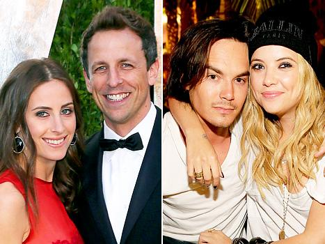 Seth Meyers Engaged; Ashley Benson Dating Tyler Blackburn: Top 5 Stories