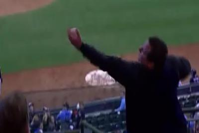 Fan's one-handed catch was the best part of a 17-inning baseball game