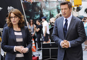 Tina Fey, Alec Baldwin | Photo Credits: Ali Goldstein/NBC