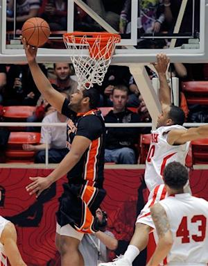 Cunningham leads Oregon State past Utah 76-58