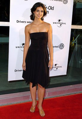 Premiere: Morena Baccarin at the Hollywood premiere of Universal Pictures' The 40-Year-Old Virgin - 8/11/2005