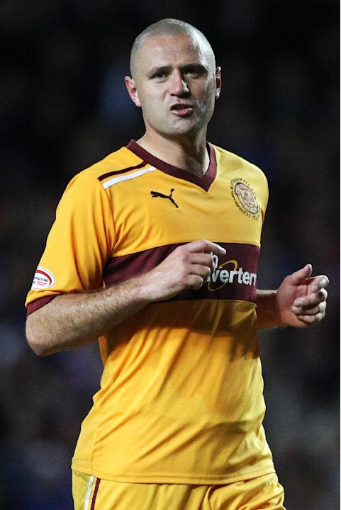 Michael Higdon was on target for Motherwell