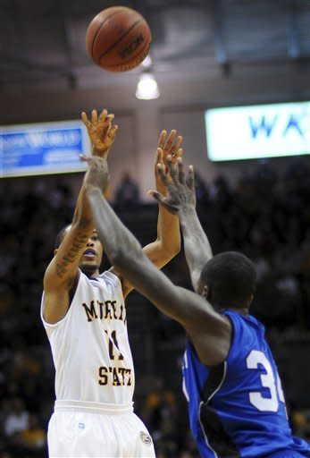 Tennessee State upsets No. 9 Murray State 72-68