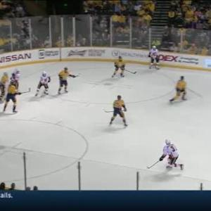 Carter Hutton Save on Raphael Diaz (07:22/1st)