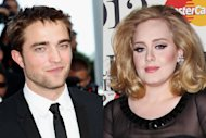 Robert Pattinson, Adele -- Getty Images