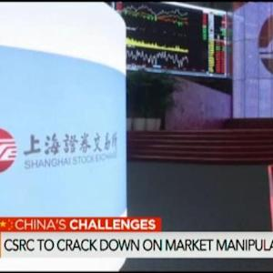 China's CSRC to Crack Down on Market Manipulation