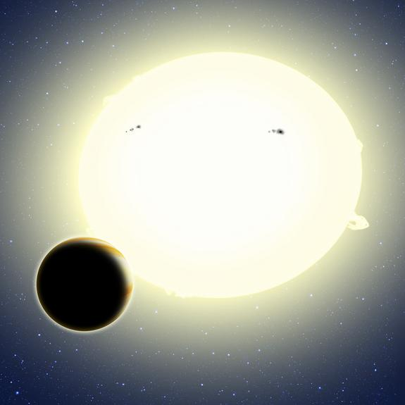 NASA's Kepler Spacecraft Finds 1st Alien Planet of New Mission