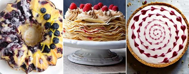 The 10 most popular cakes in February