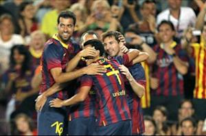 Barcelona 8-0 Santos: Blaugrana savage Brazilians in eight-goal rout