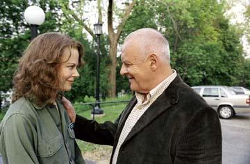 Nicole Kidman and Anthony Hopkins in Miramax's The Human Stain