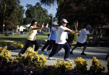 Tai chi can help build strength, relieve pain