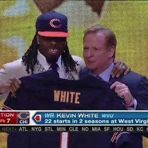 Chicago Bears pick wide receiver Kevin White No. 7 in 2015 NFL Draft