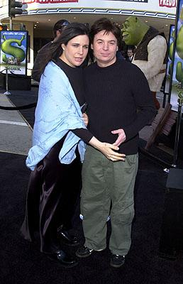 Robin Ruzan and Mike Myers at the Westwood, CA premiere of DreamWorks Pictures' Shrek