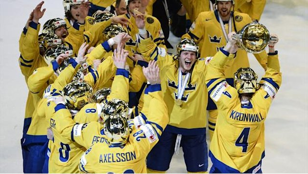 Eishockey - Schweden Weltmeister, Schweizer Wunder bleibt aus