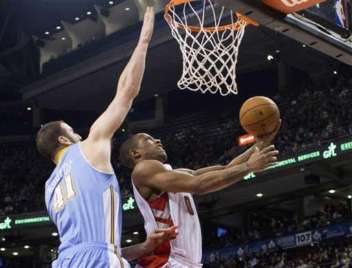 Raptors edge Nuggets 109-108
