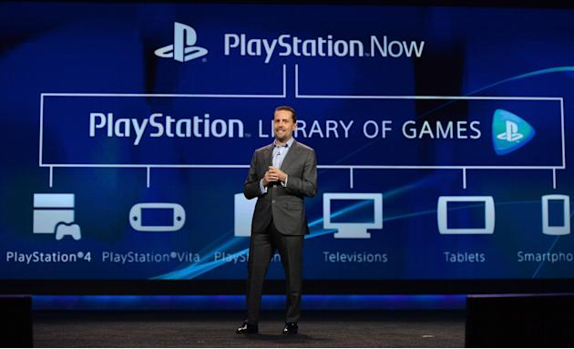 PLAYSTATION NOW  -- Hand it to Sony for thinking outside the box -- literally. The cloud-based PlayStation Now service, due to roll out later this year, picks up where Onlive left off by streaming Pla