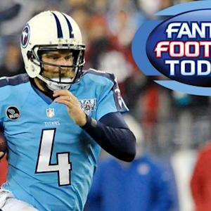 Fantasy Football Today: Waiver Wire -- QB (12/17)