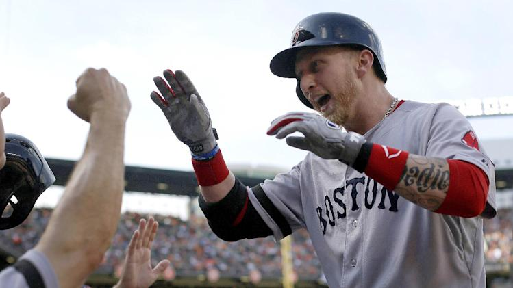 Carp and Gomes homer as Red Sox beat Orioles 5-4