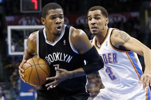 Nets drop Thunder 110-93 as Durant ejected