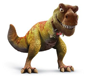 T-Rex in Walt Disney Pictures' Meet the Robinsons