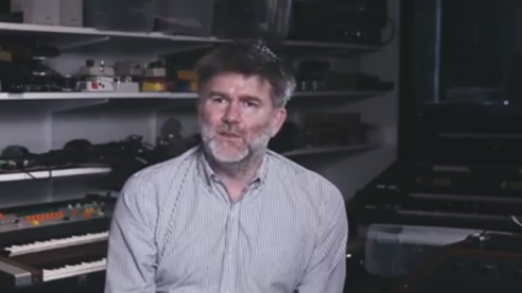 LCD Soundsystem's James Murphy is making electronic jams from tennis