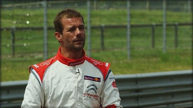 Sebastien Loeb had his first test in a WTCC Citroen