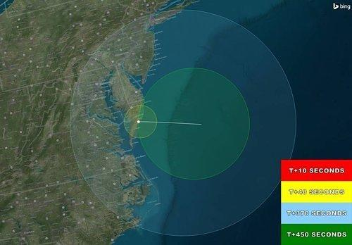 NASA Rocket Will Paint Mid-Atlantic Skies Teal and Red