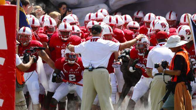 NCAA Football: Louisiana Tech at North Carolina State