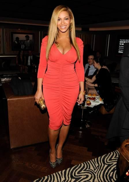 Beyonce attends the after party following Jay-Z's concert at Carnegie Hall to benefit The United Way Of New York City and the Shawn Carter Foundation at the 40 / 40 Club on February 6, 2012 -- Getty Images