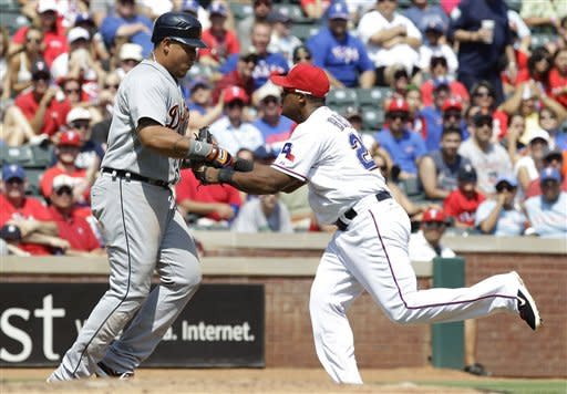 Hamilton powers Rangers past Tigers 8-3