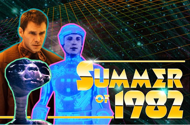 Summer of 1982 title Card