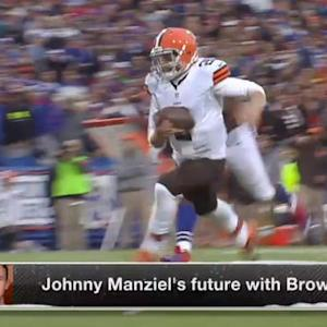 Johnny Manziel's future with Cleveland Browns