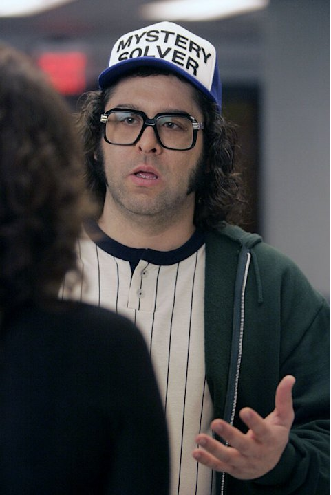 Judah Friedlander stars as Frank Rossitano in 30 Rock.