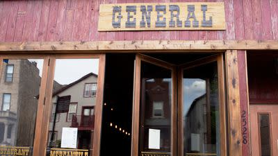The General, Armed With Barbecue Tacos, Invading Logan Square on June 2