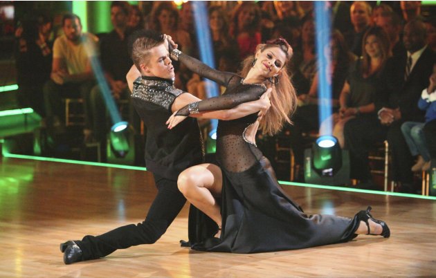 Derek Hough and Maria Menounos …