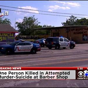 Police Investigate Murder-Suicide At Barber Shop