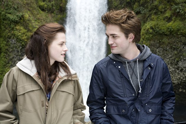 Kristen Stewart Robert Pattinson Twilight Production Stills Summit 2008