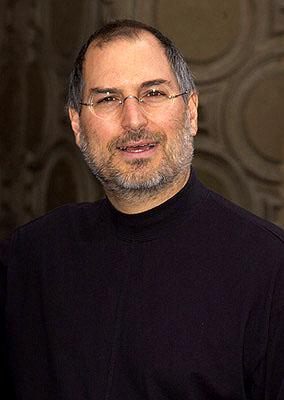 Steve Jobs at the Hollywood premiere of Monsters, Inc.